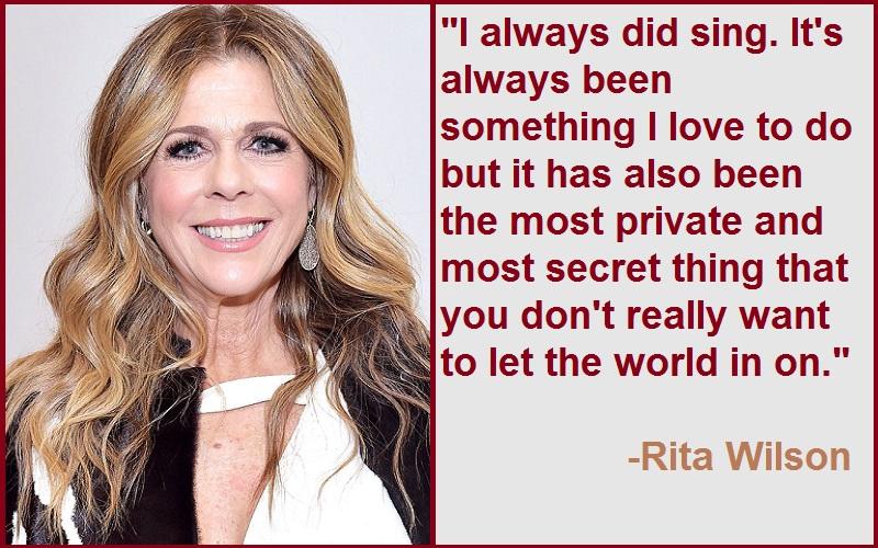 Rita Wilson Quotes And Sayings