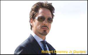 Motivational Robert Downey Jr Quotes