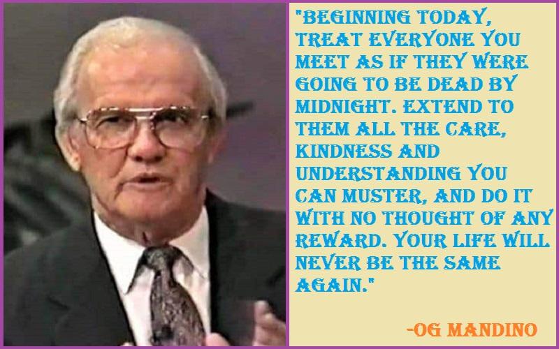 Inspirational Og Mandino Quotes