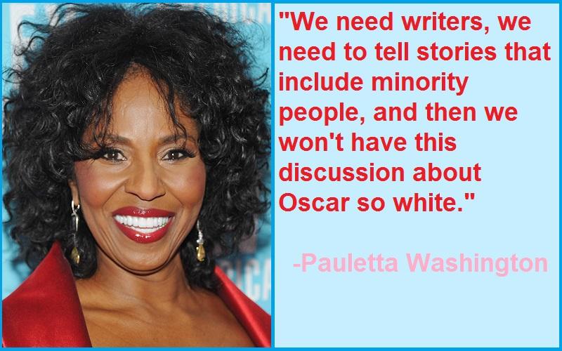 Inspirational Pauletta Washington Quotes
