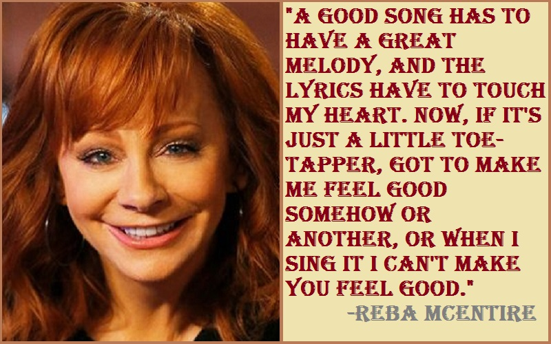 Inspirational Reba McEntire Quotes