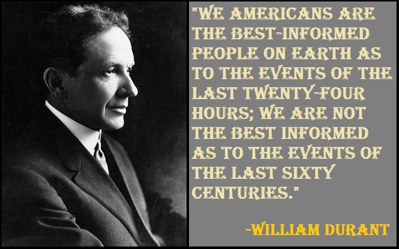 Motivational William Durant Quotes