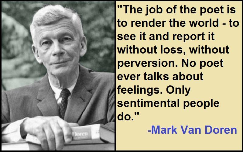 Inspirational Mark Van Doren Quotes