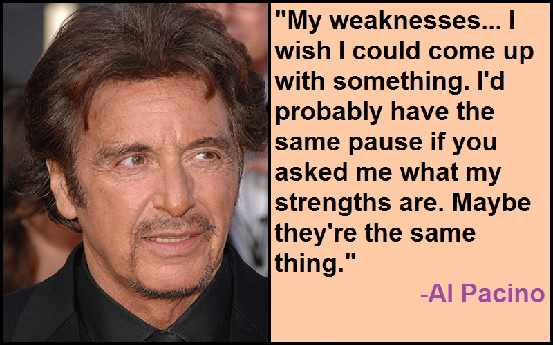 Al Pacino Quotes And Sayings