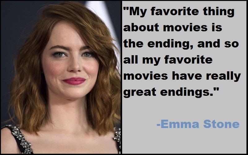 Inspirational Emma Stone Quotes