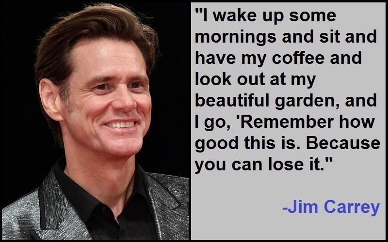 Inspirational Jim Carrey Quotes