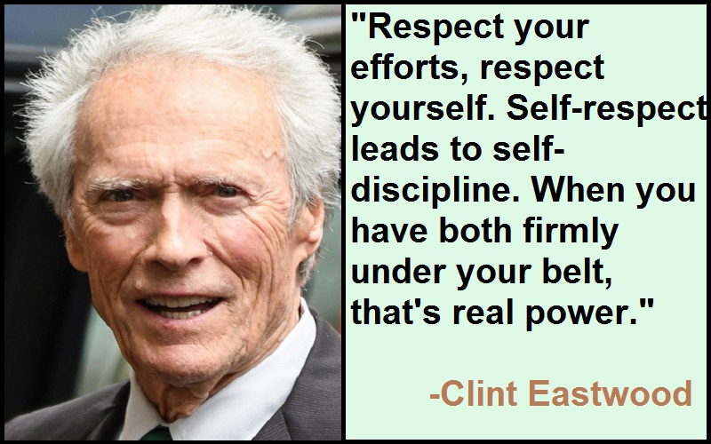 Inspirational Clint Eastwood Quotes
