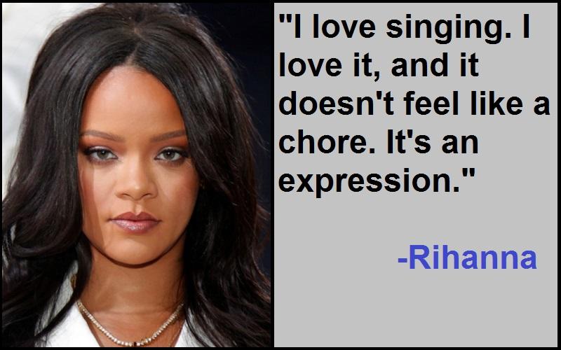 Inspirational Rihanna Quotes