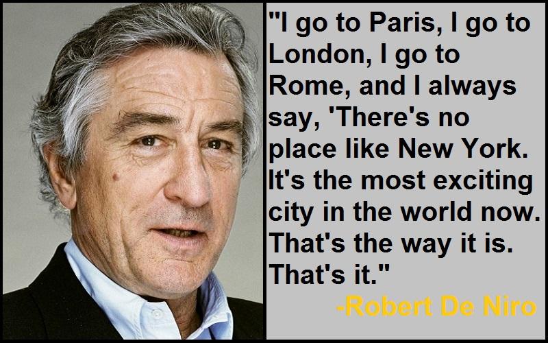 Inspirational Robert De Niro Quotes