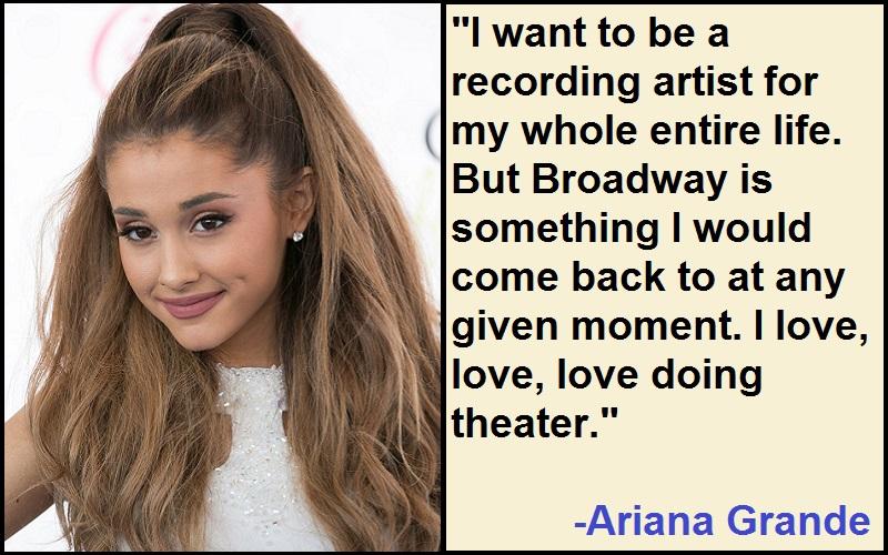 Inspirational Ariana Grande Quotes