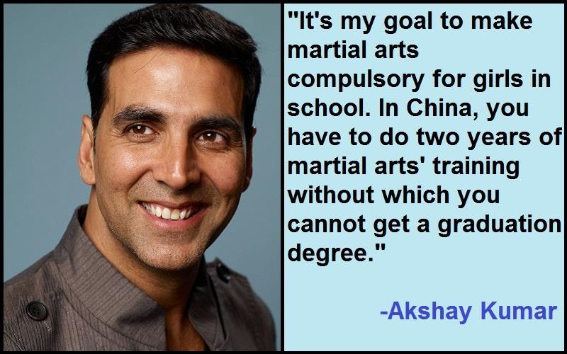 Inspirational Akshay Kumar Quotes