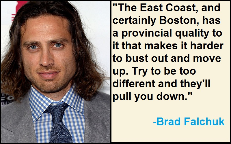 Inspirational Brad Falchuk Quotes