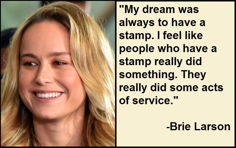 Inspirational Brie Larson Quotes