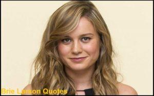 Motivational Brie Larson Quotes