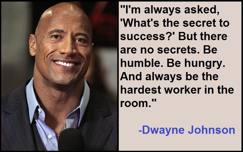 Inspirational Dwayne Johnson Quotes