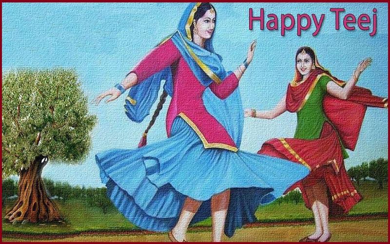 Happy Teej Festival Greetings