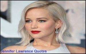 Motivational Jennifer Lawrence Quotes