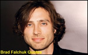 Motivational Brad Falchuk Quotes