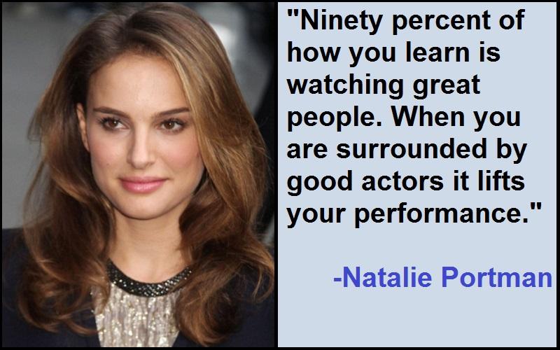 Inspirational Natalie Portman Quotes