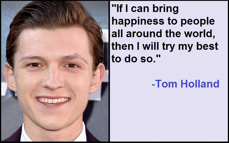 """""""If I can bring happiness to people all around the world, then I will try my best to do so."""""""