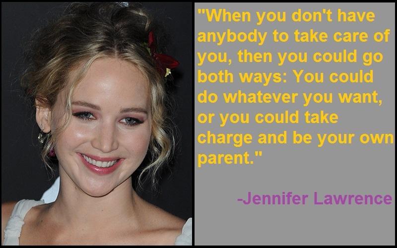 Inspirational Jennifer Lawrence Quotes