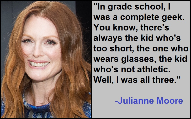 Inspirational Julianne Moore Quotes