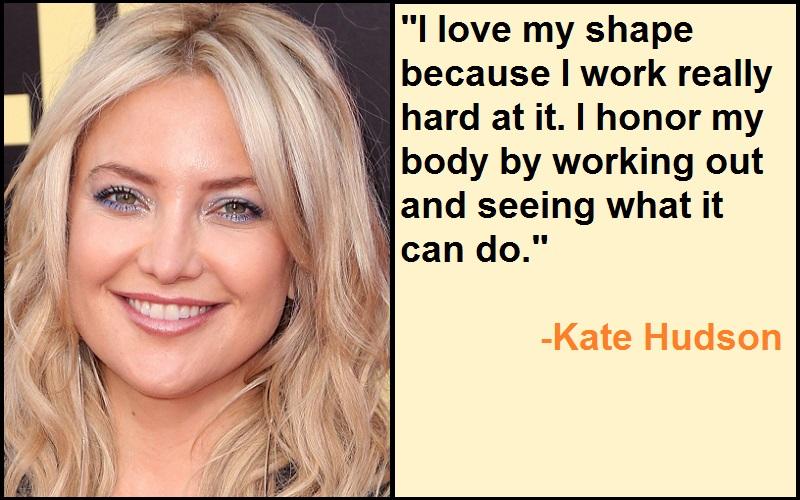 Inspirational Kate Hudson Quotes