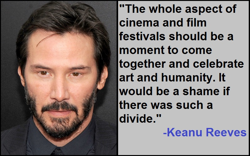 Inspirational Keanu Reeves Quotes