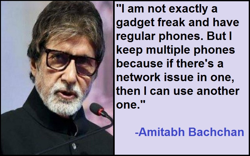Amitabh Bachchan Quotes On Thought