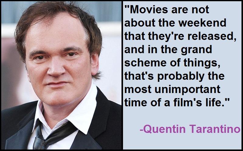 Inspirational Quentin Tarantino Quotes