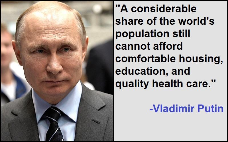 Inspirational Vladimir Putin Quotes