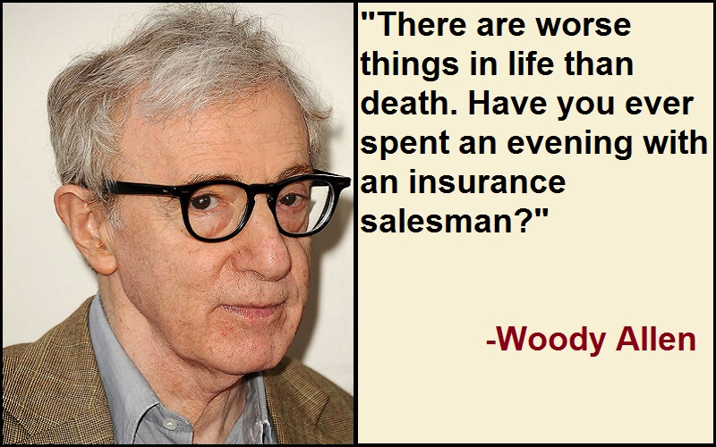 Inspirational Woody Allen Quotes
