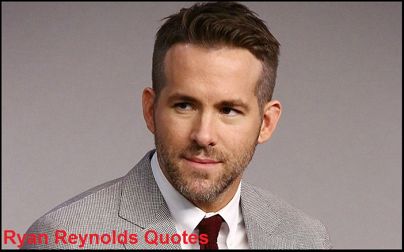 Motivational Ryan Reynolds Quotes And Sayings