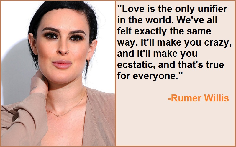 Inspirational Rumer Willis Quotes