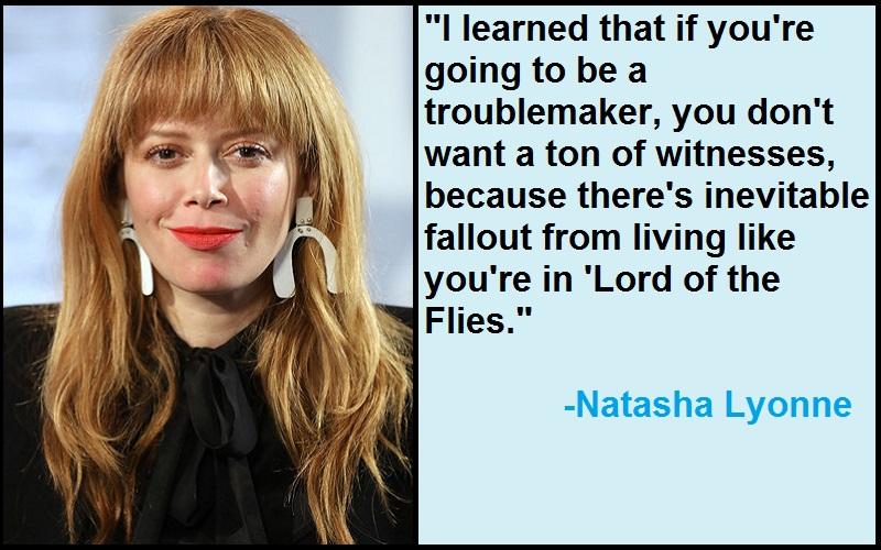 Inspirational Natasha Lyonne Quotes
