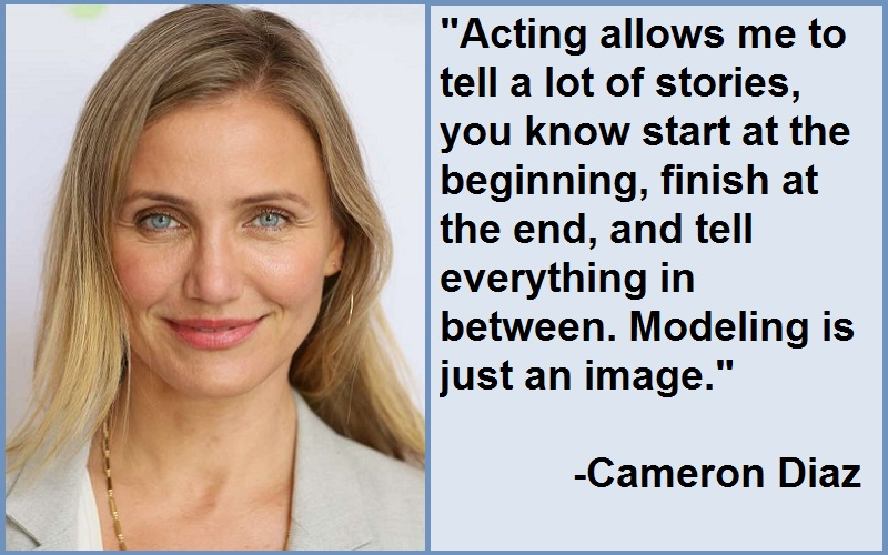 Inspirational Cameron Diaz Quotes