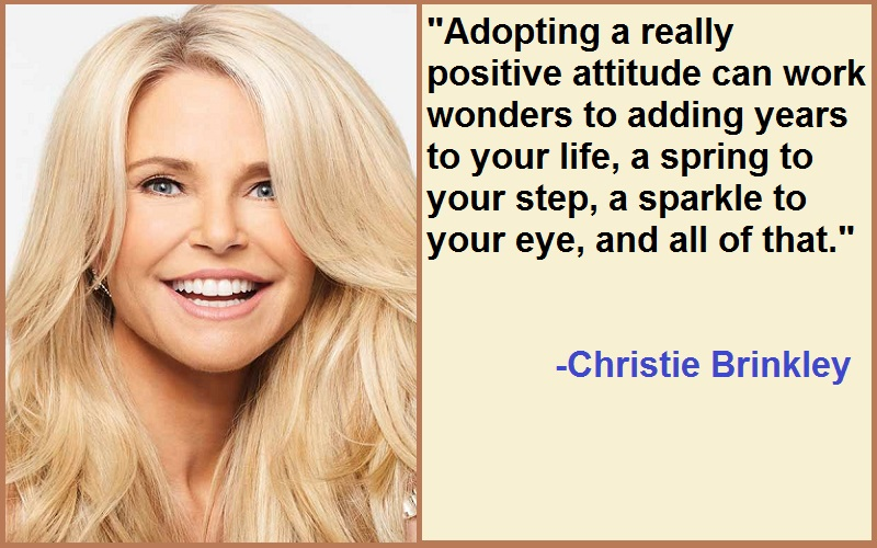 Inspirational Christie Brinkley Quotes