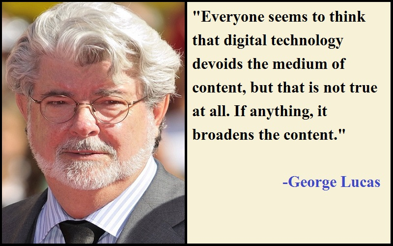 Inspirational George Lucas Quotes