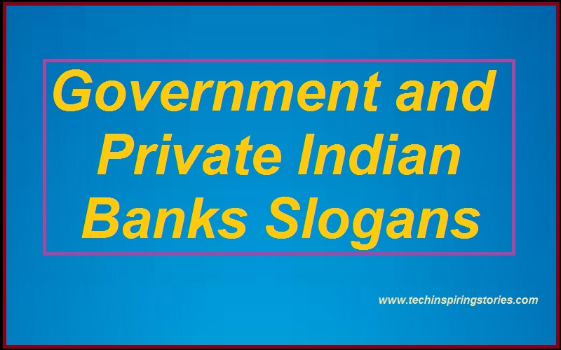 Read more about the article Slogans on Government and Private Indian Banks