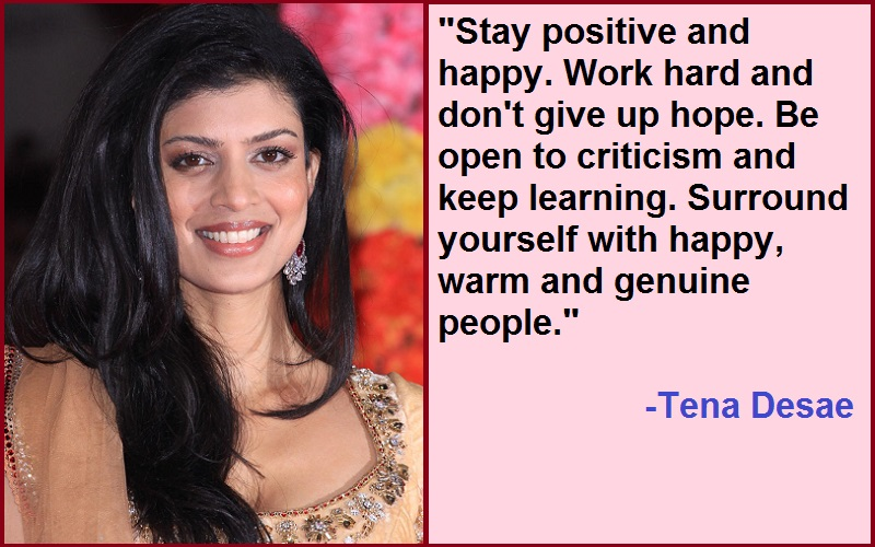You are currently viewing Motivational Tena Desae Quotes And Sayings