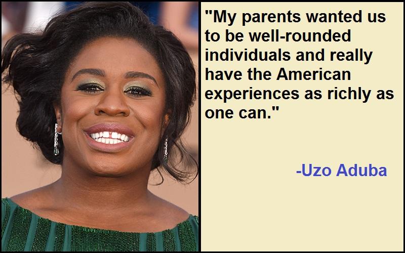 Motivational Uzo Aduba Quotes