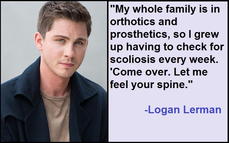 Inspirational Logan Lerman Quotes