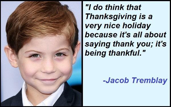 Inspirational Jacob Tremblay Quotes
