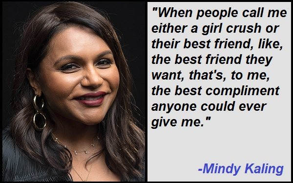 Inspirational Mindy Kaling Quotes