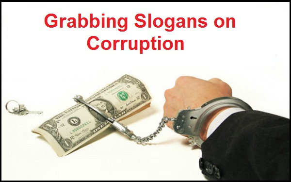 Read more about the article Famous Grabbing Slogans on Corruption