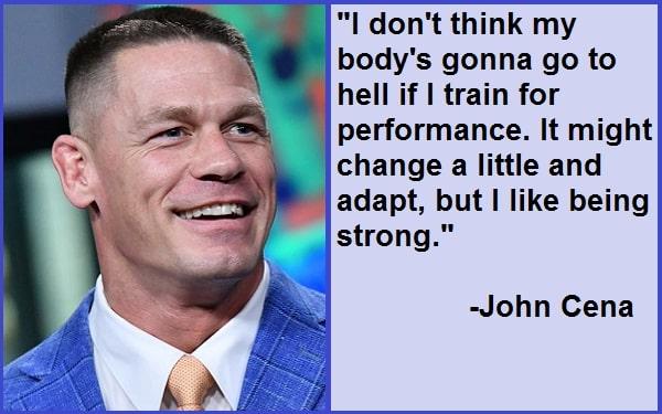 Inspirational John Cena Quotes