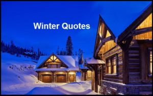 Motivational Winter Quotes And Sayings