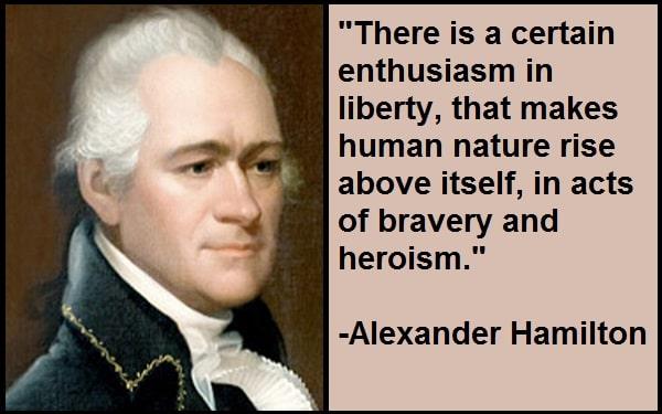 InspirationalAlexander Hamilton Quotes