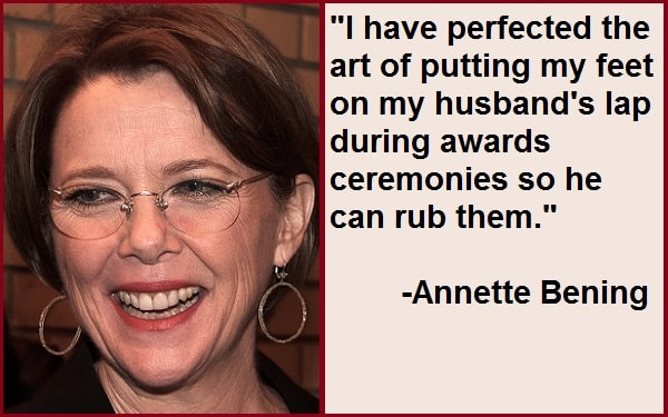 Inspirational Annette Bening Quotes