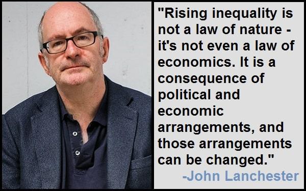 Inspirational John Lanchester Quotes